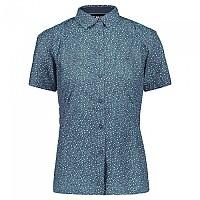 [해외]CMP Short Sleeve Shirt 4138352210 Jade / Blue