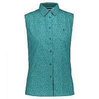 [해외]CMP Sleeveless Shirt 4138352247 Ceramic / Lake