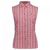 [해외]CMP Sleeveless Shirt 4138352251 Goji / Solarium