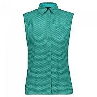 [해외]CMP Sleeveless Shirt 4138352252 Lake / Ceramic