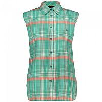 [해외]CMP Sleeveless Shirt 4138352254 Red Fluo / B.Co / Aquamint