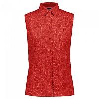 [해외]CMP Sleeveless Shirt 4138352255 Scarlet / Cherry