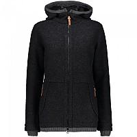 [해외]CMP Sportswear Fix Hoodie Fleece 4138352270 Carbone Melange