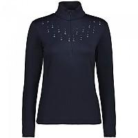 [해외]CMP Ultralight Sweat Fleece 4138352356 Black Blue