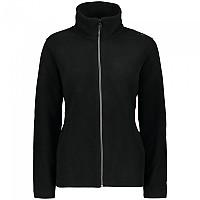 [해외]CMP Jacket Comfort Fit Fleece 4138353470 Black / Ice