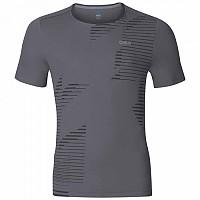 [해외]오들로 George Crew Short Sleeve T-Shirt 4136413783 Odlo Steel Grey / Placed Print