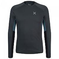 [해외]몬츄라 Under First Long Sleeve T-Shirt 4138301783 Anthracite / Cenere Blue