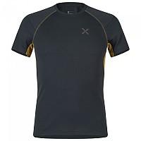 [해외]몬츄라 Under First Short Sleeve T-Shirt 4138301793 Antracite / Gold