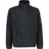 [해외]CMP Full Zip Fleece 4138309233 Titanio