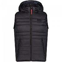 [해외]CMP Zip Hood Vest 4138315771 Black