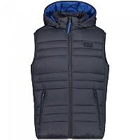 [해외]CMP Zip Hood Vest 4138315774 Titanio