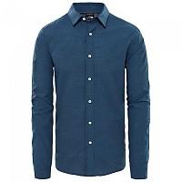 [해외]노스페이스 Dot Matrix Long Sleeve T-Shirt 4138351115 Shady Blue Dot Jacquard