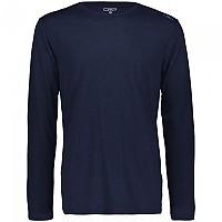 [해외]CMP Long Sleeve T-Shirt 4138352128 Black Blue