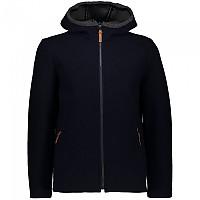 [해외]CMP Sportswear Fix Hooded Fleece 4138352268 Bright Blue / Anthracite Melange