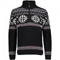 [해외]CMP Tricot Sweater 4138353554 Black