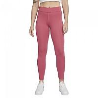 [해외]나이키 Sportswear Mid Rise Leggings Archaeo Pink / White