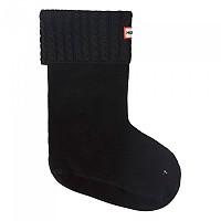 [해외]헌터 Mini Cable SST Short Socks Black