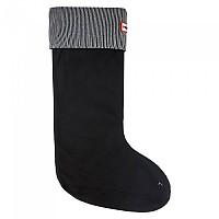 [해외]헌터 Tall Original Glitter Socks Silver / Black