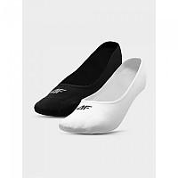 [해외]4F Socks Deep Black / White