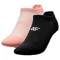 [해외]4F Socks Light Pink / Deep Black