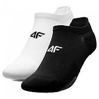 [해외]4F Socks White / Deep Black