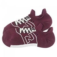 [해외]뉴발란스 Double Tab Sneaker No Show Socks Red