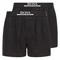 [해외]BOSS Boxer Shorts Ew Pyjama 2 Pairs Black