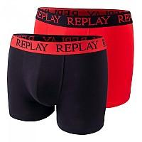 [해외]리플레이 Style04 Trunk 2 Units Red / Black