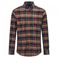 [해외]HACKETT Rust Multi Plaid Long Sleeve Shirt Multi