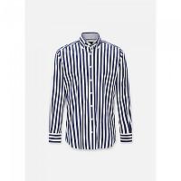[해외]HACKETT Wide Butchers Stripe Long Sleeve Shirt White / Blue