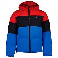 [해외]라코스테 Lightweight WR Puffer Short Jacket Red / Abyss-Ultramarine