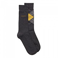 [해외]BOSS RS Argyle CC Socks 2 Pairs Charcoal