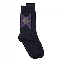 [해외]BOSS RS Argyle CC Socks 2 Pairs Dark Blue
