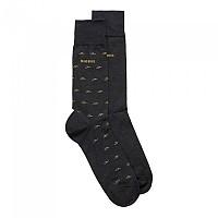 [해외]BOSS RS Minipattern MC Socks 2 Pairs Charcoal