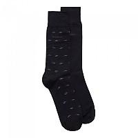 [해외]BOSS RS Minipattern MC Socks 2 Pairs Dark Blue
