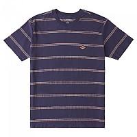 [해외]빌라봉 Die Cut Short Sleeve Crew Neck T-Shirt Denim Blue
