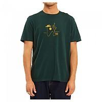 [해외]빌라봉 Sleepwalker Short Sleeve T-Shirt Bottle Green