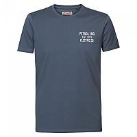[해외]PETROL INDUSTRIES Short Sleeve Round Neck T-Shirt Dark Slate