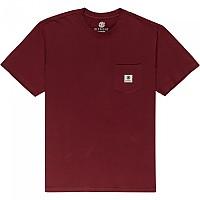 [해외]엘레먼트 Basic Pocket Label Short Sleeve T-Shirt Vintage Red
