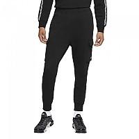 [해외]나이키 Sportswear Repeat Pants Black / Reflective Silver