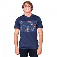 [해외]립컬 Cut&Sew Short Sleeve T-Shirt Navy