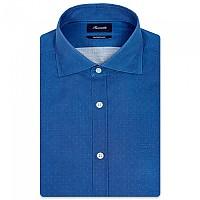 [해외]FA?ONNABLE Casual Contemporary Garibaldi 8 Long Sleeve Shirt Light Stone Wash