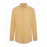 [해외]FA?ONNABLE Casual Contemporary Garibaldi Linen Nat Dye 12 Long Sleeve Shirt Colemans