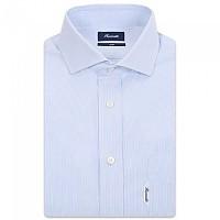 [해외]FA?ONNABLE Essential Casual Club Riviera 1B Long Sleeve Shirt White / Sky