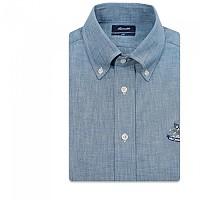 [해외]FA?ONNABLE Essential Sportswear Club Button-Down 4 Long Sleeve Shirt Light Stone Wash