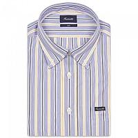 [해외]FA?ONNABLE Sportswear Club Button-Down 2 Long Sleeve Shirt Blue / Yellow