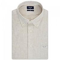 [해외]FA?ONNABLE Sportswear Club Button-Down Azur 1 Long Sleeve Shirt Dusty Sand