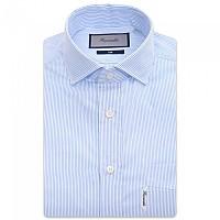 [해외]FA?ONNABLE Voyage Casual Club Riviera Pop Stripe Long Sleeve Shirt Pale Blue