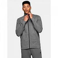 [해외]4F Full Zip Sweatshirt Middle Grey Melange