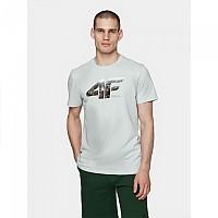 [해외]4F Short Sleeve T-Shirt Cold Light Grey